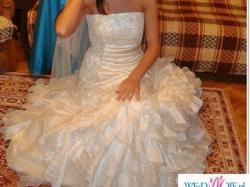 Sprzedam pezepiękną, wyjątkową suknię ślubną