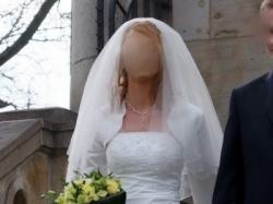 Sprzedam piękną, bardzo elegancką suknię ślubną