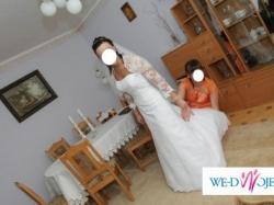 Sprzedam piękną,bardzo kobiecą i elegancką suknię  Sincerity Bridal-model 3134