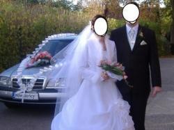 Sprzedam piękna, biała suknie ślubną