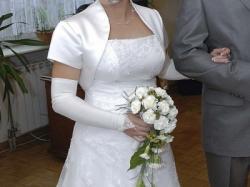 Sprzedam piękną biała suknię ślubną