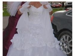 Sprzedam piękną, białą suknię slubną!!