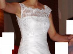 Sprzedam piękną, białą suknię ślubną Amanda z kolekcji Margarett  2011