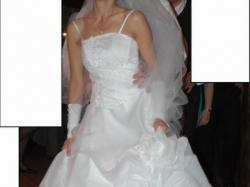 Sprzedam piękna, biała suknie ślubną (elbląg, olsztyn)