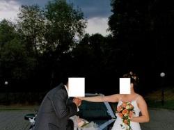 Sprzedam piękna biała suknie ślubną,jednoczęściowa, raz noszona