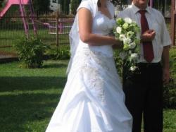 Sprzedam piękną białą suknię ślubną - jest wyjątkowa :)