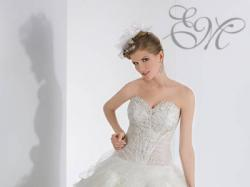 Sprzedam piękną, białą SUKNIĘ ŚLUBNĄ z kolekcji EMMI MARIAGE model KENZO