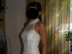 Sprzedam piękną i elegancką suknię ślubną Langoria kolekcja 2007