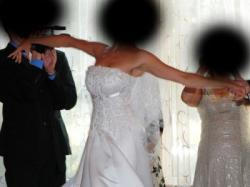 Sprzedam piękną i orginalną suknię ślubną!