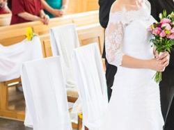 Sprzedam piękną koronkową białą suknię rozm.36/38 + bolerko