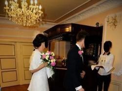 Sprzedam piękną koronkową suknią ślubną Fanny NABLA