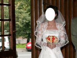Sprzedam piękną koronkową suknię ślubną firmy Polsanta - model Evita