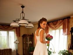sprzedam piękną, luksusową, niezwykle efektowną  i piekną suknię ślubną