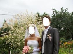 Sprzedam piekna podpinana suknie ślubną