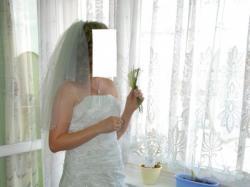Sprzedam piękną, śnieżnobiałą suknię ślubną