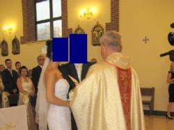 Sprzedam piękną suknię Demetrios 1341