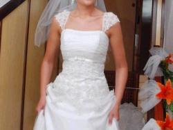 sprzedam piękną suknię Herm's model Kedane raz.38 - jak nowa!!!