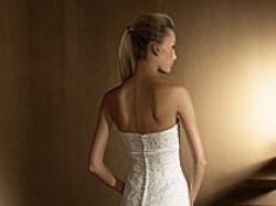 Sprzedam piekna suknie SAN PATRICK--BERET, kolor-crem. Szczecin