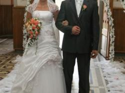 Sprzedam piękną suknię ślubną