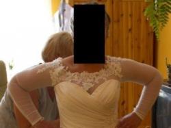 Sprzedam piękną suknię śłubną