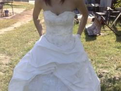 Sprzedam piękną suknie ślubną