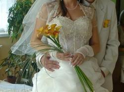 Sprzedam piękną suknie ślubną:))