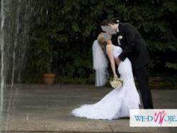 Sprzedam piękną suknię ślubną AGORA 29-16 rozmiar 34