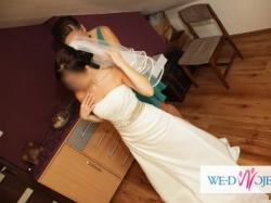 Sprzedam piękną suknię ślubną Atelier Diagonal model 2808