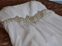 Sprzedam piękną suknię ślubną empire rozm. 36/38