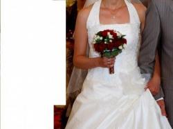 Sprzedam piekną suknie slubna firmy Emmi Mariage