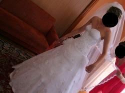 Sprzedam piękną suknie ślubną firmy SZARM
