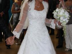 Sprzedam piękną suknię ślubną HERM`S Gianella
