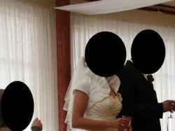 Sprzedam piękną suknie ślubną hiszpankę - Sposabella model 635