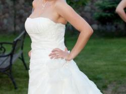sprzedam piękną suknie ślubną LaSposa Fantasia+ welon