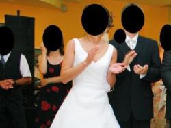 Sprzedam piękną suknie ślubną, Lisa Ferrera