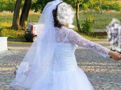 Sprzedam piękną suknię ślubną- model Księżniczka