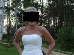 Sprzedam piękną suknię ślubną model Modeca M95713