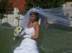 Sprzedam piękną suknię ślubną MS Moda rozm.38/40 wzrost 168
