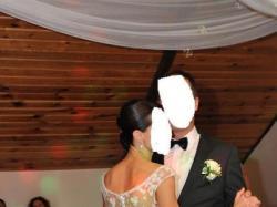Sprzedam piękną suknię ślubną r.34/36 + dodatki