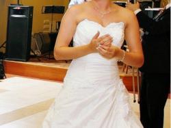 Sprzedam Piękną Suknię Ślubną roz. 38 Gratis welon i buty 39!