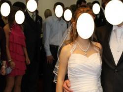Sprzedam piękną suknię ślubną-rozmiar 36 (mozliwość regulacji)!!!!