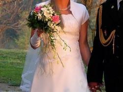 Sprzedam Piękną Suknię Ślubną rozmiar 38-40