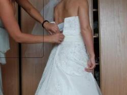 sprzedam piekną suknie ślubną sweetheart model 5885 z 2009 r.