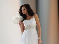 """Sprzedam  piekną suknię ślubną typu """"Rzymianka"""" 950 zł"""