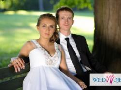 Sprzedam piękną suknię ślubną w stylu empire