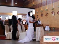 Sprzedam piękną suknię ślubną w stylu hiszpańskim