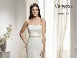 sprzedam piękna suknie ślubną z kolekcji vanessa