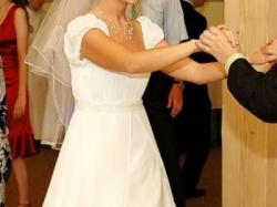 """Sprzedam piękną suknię ślubną z muślinu typu """"Józefinka"""""""