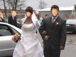 """Sprzedam piekną suknię ślubną z salonu """"Hermago"""""""