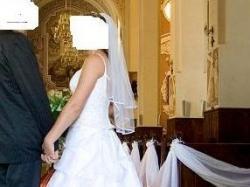 Sprzedam piękną suknię ślubną z USA